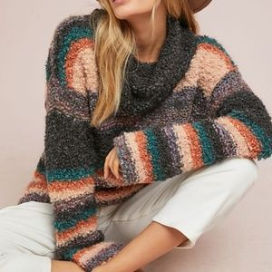 💚NWT Anthropologie Moth Chunky Knitted Sweater💚